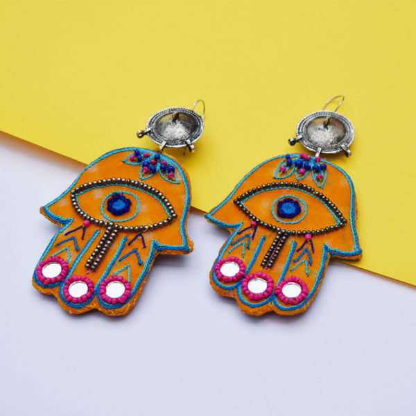 Hamsa Earrings 5