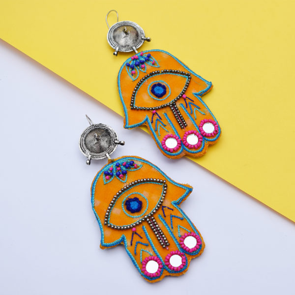 Hamsa Earrings 6