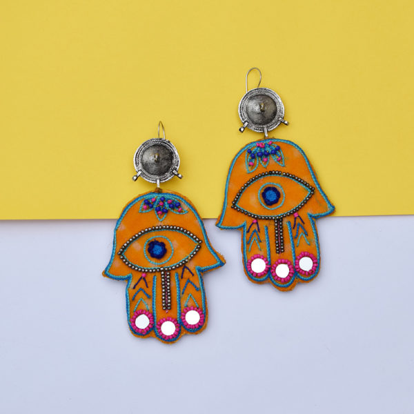 Hamsa Earrings 7